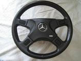 Mercedes AMG Silberpfeil III Lederlenkrad 37cm steering wheel KBA 70084 W107 W126 W123 W124 W201 16V AMG top Zustand