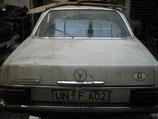 Mercedes Heckdeckel Kofferraumdeckel rotfrei W114 /8 Coupe