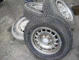 Mercedes Satz Barockfelgen original 6,5 x 14  W114 W115 W116 W123 W126 W107 R 107