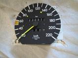 Mercedes Tacho Tachometer speedometer 1245426806 300 Turbo Diesel W124 220 Km/h 230 260 280 300