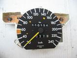 Mercedes Tacho Speedometer Tachometer 1265424757 W126 240 km/h 260SE 300SE 300SEL