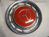 Mercedes Radkappe Chrom 14 Zoll englischrot 504 W123 W107 R107 W114 W116 W126