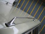 Mercedes Dachreling komplett Satz links rechts chrom mit Befestigung W123 T Modell Kombi 230T 230TE 240TD 250T 280TE 300TD TDT