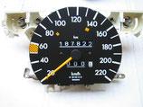 Mercedes Tachometer Speedometer 220 km/h 2015421667 190 190E