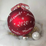 XXL Weihnachtskugel mit Namen