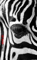 "SmartphoneTasche ""Zebra"" schwarz"