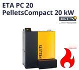 ETA PC 20 Pellets Compact Pelletkessel Pellet Heizung Touch Pelletsheizung