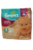 Pampers Active Fit maat 3, 28 pampers