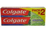 Colgate MaxFresh Ice-Tea 75ml 2 stuks