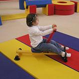 Mini rameur de fitness pour enfants Sarneige