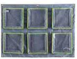 Rangement de doudou : 6 pochettes horizontal