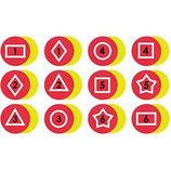 Marques au sol formes géométriques