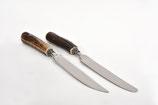 Tafelmesser - Steakmesser Hirsch