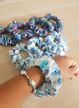 HHR Scrunchies. Ocean themed and hand made.