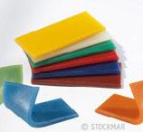 cire à modeler 100x40x6 mm 6 couleurs, Stockmar