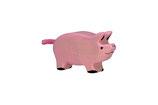 cochon, Holztiger