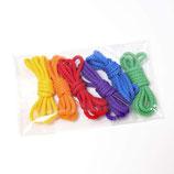 6 lacets colorés, Grimm's