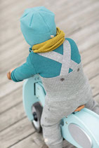 salopette tricotée, Disana