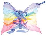 ailes en soie arc-en-ciel, sarah's silk