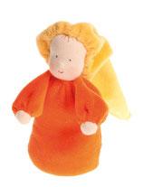 poupée lavande avec bonnet, Grimm's