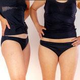 culotte menstruelle l'espiègle coloris noir, PLIM