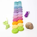 24 boutons pastels, Grimm's