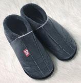 chaussons cuir noir 40/41, Pololo souple