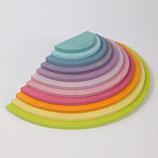 demi-cercles tons pastels, Grimm's