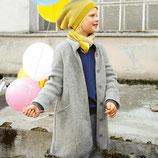 veste longue laine feutrée - outdoor-jacket, Disana