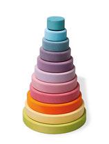 grande tour conique coloris pastels, Grimm's