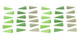 Mandala cones verts, Grapat