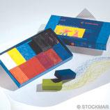 blocs à colorier 12 couleurs - Stockmar