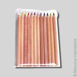 12 Crayons de couleur triangulaires, Yorik