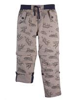 pantalon gris motifs tigres, Frugi