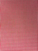 Karo rot-weiß