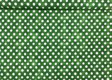 Punkte weiß auf grün