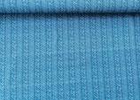 Strickoptik blau