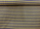 Sweat Streifen grau-gelb