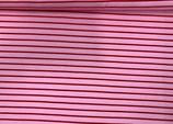 Sweat Streifen rosa-rot
