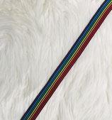 Ripsband Regenbogen schmal