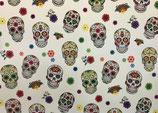 Kunstlederbogen Totenmaske