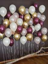 Ballon-Wand Ast