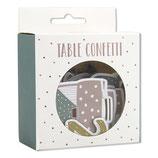 Tischkonfetti pastell