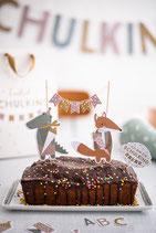 Cake Topper Schule