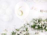 Tischnummern Ballons