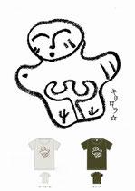 オノコロニコニコ土偶ちゃんTシャツ