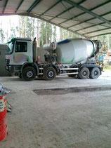 Camión hormigonera MERCEDES 4141 seminuevo 4 ejes