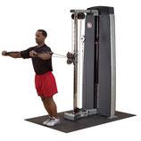 Pro Dual Kabelzugstation 'Studio' mit 95 Kg Gewichtsturm