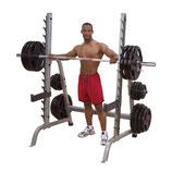 Body Solid Multi Press Rack 7° angewinckelt