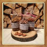 Apéro Mandeln mit Salz, Curry oder Paprika 150g